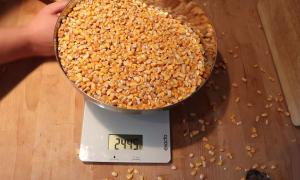 Рецепт кукурузного виски — бурбона